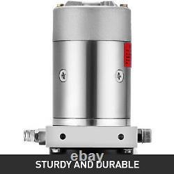 8 Quart Single Acting Hydraulic Pump Dump Trailer Déchargement Kit De Contrôle Fer