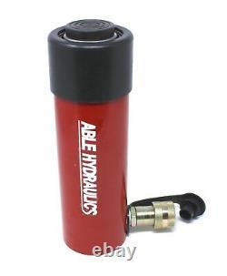 Able Hydraulique Cylindre À Action Unique De 25 Ton 4 Pouces