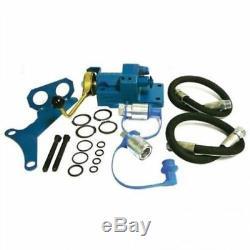 Arrière Hydraulique À Distance Kit Valve Tracteur Ford / Simple Spool Double Effet