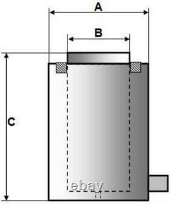 Cylindre À Action Unique Hydraulique (200tonnes 2) (yg-20050)