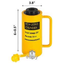 Cylindre Hydraulique Jack 20 Tonnes 2 St Simple Effet Creux Ram 10000psi Yg-2050k