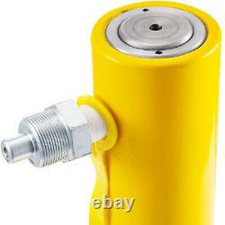 Cylindre Hydraulique Jack De Ram Solide 10 10 Tonnes Stroke Simple Effet Cylindre De Levage
