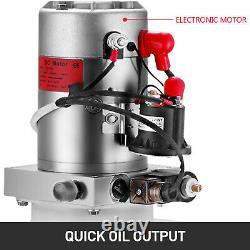 DC 12v 10 Quart Unité De Puissance De La Pompe Hydraulique À Action Unique Télécommande/ Contrôle