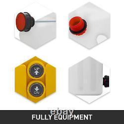 Déchargement De La Remorque À Déchargement Hydraulique À Action Unique De 13 Litres