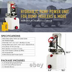 Déchargement De Pompe Hydraulique À Action Unique De 4 Litres 12v Power Unit Déchargement