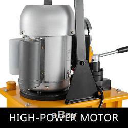 Driven Électrique Pompe Hydraulique 10000 Psi (double Effet Vanne Manuelle)