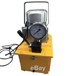 Driven Électrique Pompe Hydraulique 10000psi Simple Effet 110v 60hz 7l Capacité D'huile