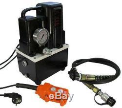 Driven Électrique Pompe Hydraulique (simple Effet Électrovanne) (b-700t)