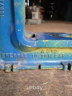Enerpac Arbor Hydraulic Press A310 10 Tonnes Très Bon État
