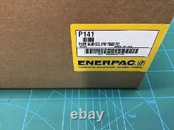 Enerpac Nouveau! P-141 Pompe À Main Hydraulique À Une Seule Vitesse 10 000 Psi Nib