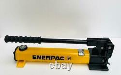 Enerpac P392 Pompe À Main Hydraulique À 2 Vitesses 700 Bar/10,000 Psi