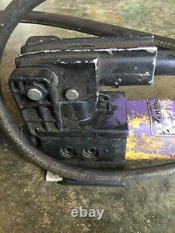 Enerpac P392 Pompe Hydraulique À Main 10 000 Psi / 700bar