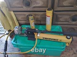 Enerpac P392 Pompe Hydraulique À Main 700 Bar/10 000 Psi Gf-120p Rc158 Rc106 Testé