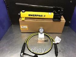 Enerpac P-392 Pompe À Main Hydraulique À 2 Vitesses Hc9206 C604 Ga3 0-10000 Psi Gauge