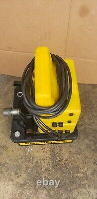 Enerpac Puj1200b Pompe Hydraulique 1/2 HP 10 000 Psi 2 Vitesses 115v 3/2