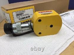 Enerpac Rsm-200 20 Tonnes Cylindre Hydraulique Basse Hauteur Nouveau! Expédition Rapide