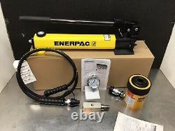 Enerpac Sch202h Set Rch202 Hydraulic Cylinder Hollow 20 Tonnes Nice! Pompe P392
