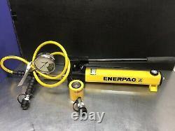 Enerpac Scl101h Ensemble Hydraulique De 10 Tonnes Rcs101 P392 Pompe De Basse Hauteur Nice