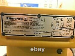 Ensemble De Pompes Hydrauliques Électriques Enerpac 1-1/8 HP