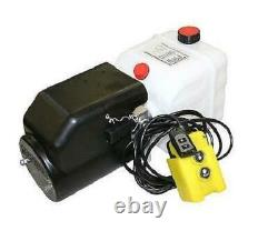 Flowfit 12v DC One Acting Hydraulic Power Pack, 4,5l Tank & Wireless Remote P