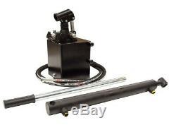 Flowfit Hydraulique Simple Effet Pompe À Main Remorque / Benne Kit
