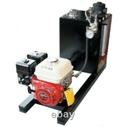 Honda Petrol Engine Driven Hydraulic Single Acting Power Units, 5.5hp, 10.5 L/mi