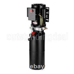 Lifting De Voiture 220v Unité D'alimentation Hydraulique Pompe Hydraulique À Action Unique Hoist De Véhicule#