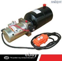 Maximal Hydraulique Power Unite 12v Dc, Single Acting 1.3 Gpm, 6 Qt. Polyciterne Sae 6