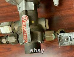 Oberdorfer 991r, Pompe De Transfert D'huile D'engrenage Rotatif En Bronze, 1/2 HP Baldor