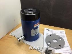 Otc 4122a 50 Ton Hollow Center Hydraulic Ram Cylinder 3 Stroke Nouveau! Fait