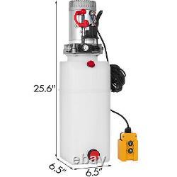 Paquet De Puissance Hydraulique À Action Unique 24v DC Avec Réservoir 8l Zz003835