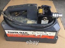 Pe102 Power Team Modèle B, 115 Vac Pompe Hydraulique