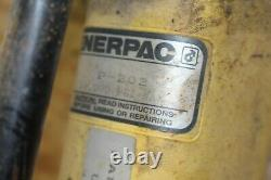 Pompe À Main Enerpac P202, 2 Vitesses, 10 000 Psi