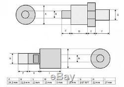 Pompe À Main Hydraulique (10.000psi-165in³) (b-700a)