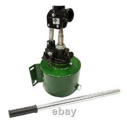 Pompe À Main Hydraulique 20cc À Action Unique Avec Vanne De Dégagement De Réservoir Pour Cylindre S/a