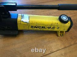 Pompe À Main Hydraulique Enerpac P142 10000 Psi / 700 Bar