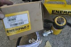 Pompe À Main Hydraulique Enerpac P-39 Et Cylindre Rc102 Avec Tuyau