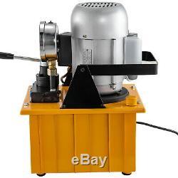 Pompe Électrique Hydraulique Double Manuel Intérimaire Valve 10000 Psi 8l Capacité D'huile