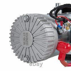 Pompe Hydraulique À Action Unique DC 12v Dump Trailer 8 Quart 3200 Psi Max