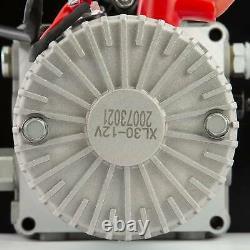 Pompe Hydraulique À Action Unique De 12 Volts Pour La Remorque À Benne À Benne 20 Litres Réservoir Métallique