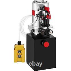 Pompe Hydraulique À Action Unique Pour Remorques À Benne À Benne Kti 12 VDC 4 Quart Réservoir