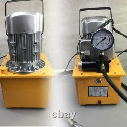 Pompe Hydraulique À Entraînement Électrique À 2 Étages À Double Action 110v 60hz 10000psi Us Ship