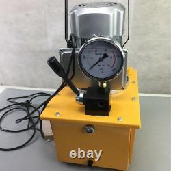 Pompe Hydraulique À Propulsion Électrique 7l 10152 Psi (valve Manuelle À Action Unique) 220v