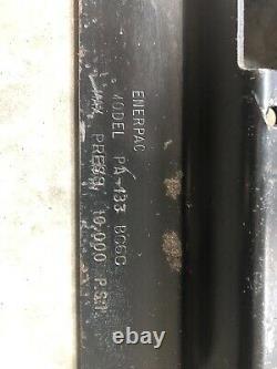 Pompe Hydraulique D'air Enerpac Pa133 Usagée 10 000psi