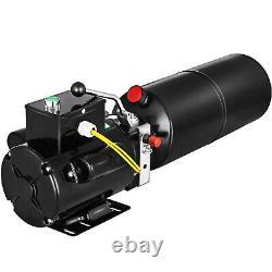 Pompe Hydraulique D'unité Hydraulique De Levage De Voiture 220v 50hz 10l Treuil Simple De Phase