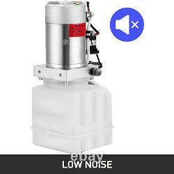 Pompe Hydraulique De 12 Volts Pour Remorque De Vidage 4 Quart Poly Action Unique