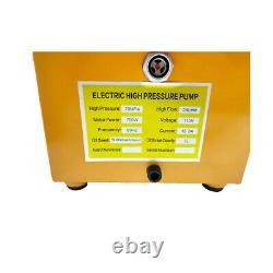 Pompe Hydraulique Électrique Commande Manuelle À Simple Action 750w 110v