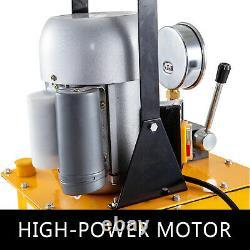 Pompe Hydraulique Électrique Valve Manuelle À Action Unique 10000 Psi 8l Capacité D'huile