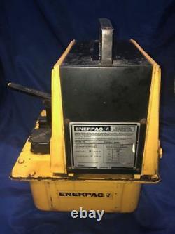 Pompe Hydraulique Enerpac Pam-1022 10 000 Psi. Opération Pneumatique