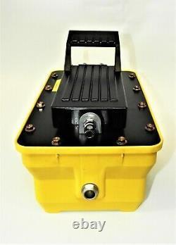 Pompe Hydraulique Haute Pression Actionnée Par Air Pour L'entretien Hydraulique De Flotte10000psi